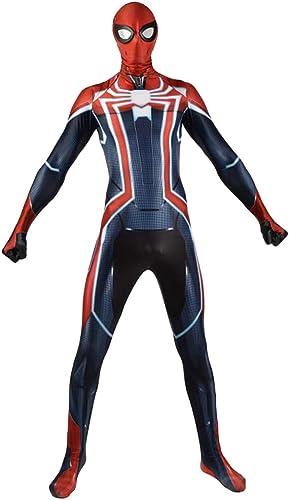 seguro de calidad JUFENG Impresión Digital 3D Traje De De De BaTalla Súper Limitado Spider-Man Cosplay Medias Siamesas Disfraz De Halloween Cosplay,A-Adult S  descuento de ventas en línea