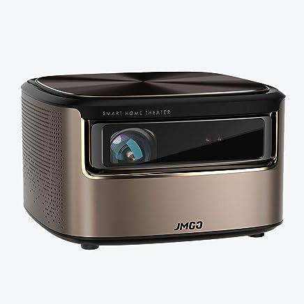 jmgo坚果V9 投影仪家用小型1080P高清无线wifi智能3D家庭影院无屏电视教学会议投影机坚果J7投影仪升级版