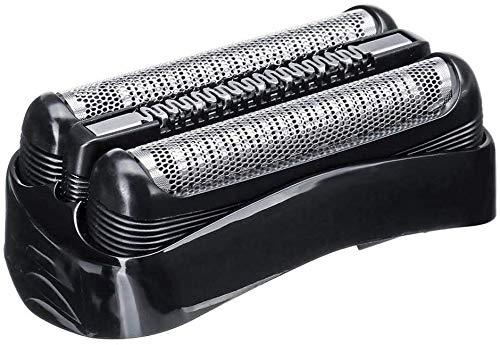 Ersatz-Rasierer 32B, kompatibel mit Braun Series 3 3090cc 3050cc 3040s 3020 340 320 Rasierer Elektrorasierer Ersatz-Rasierer (schwarz)