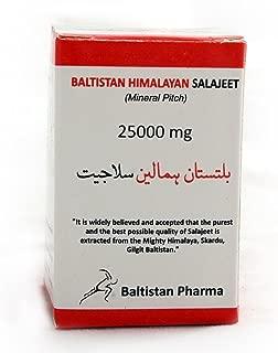 Baltistan Himalayan Original, Authentic, Real Salajeet/Shilajit/Salajit/Mineral Pitch (2 X 25 gram jar)