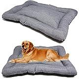 bps bps-14094gr - materassino per cani e gatti, antiscivolo, dimensioni s/m/l, portatile, materasso per divano, cuscino morbido (s: 60 x 45 cm, grigio)