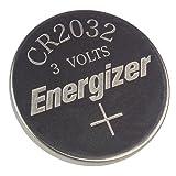 2 X Energizer CR2032 3V Lithium Coin Batteries