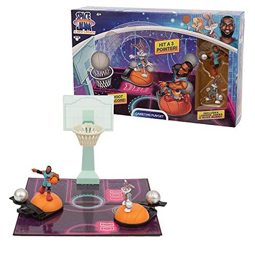 Space Jam - New Legends Playset, con 2 Mini Personaggi, per giocare una vera partita, dal film Space Jam, per bambini a partire da 4 anni, Giochi Preziosi, PCE01000