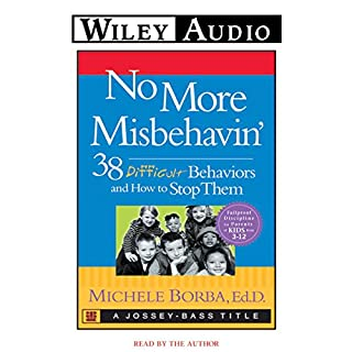 No More Misbehavin' audiobook cover art