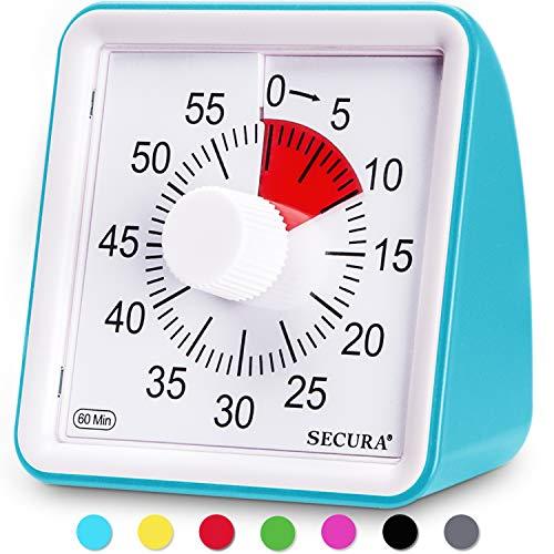 Secura 60-Minute Visual Timer, Classroom Countdown...