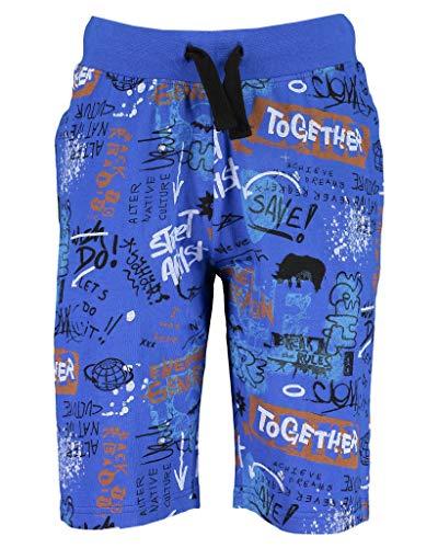 blue seven Bermuda niño Azul con Estampado de graffitis 633051-X-530 12 Anni