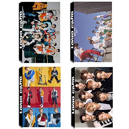 5 Pack / 150 Pcs Pcs KPOP NCT 127, NCT U,NCT DREAM Lomo Card Photocards with Greeting Card Postcards Box