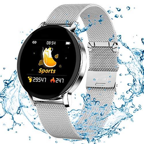 BZLEK Orologio Fitness Tracker con Tenere sotto Controllo Smartwatch con Contapassi, Resistente all'Acqua IP67 Schermo A Colori, Molteplici modalità Sportive Step Tracker per Donne, Uomini, Bambini,B