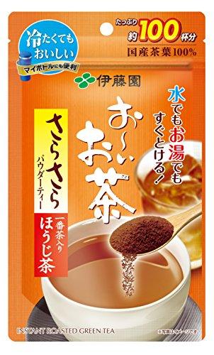伊藤園 おーいお茶 さらさらほうじ茶 80g [3238]