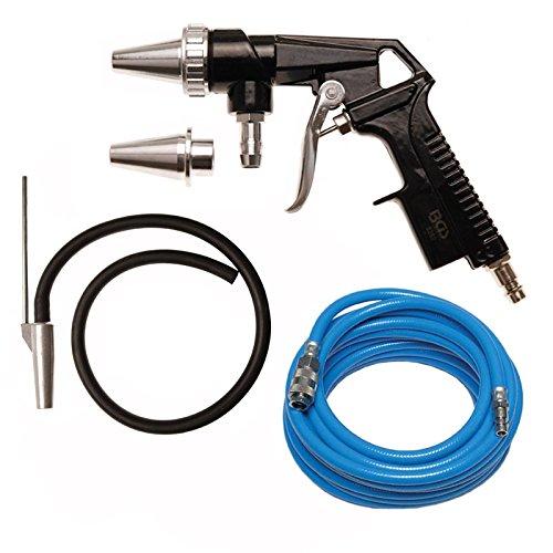 BGS Sandstrahlpistole Sandstrahler Strahlpistole Druckluft Ansaugschlauch + Druckluftschlauch Kompressor Luftschlauch Pressluftschlauch 10 Meter lang 6 mm Innendurchmesser