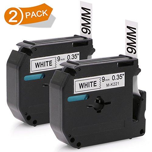 65 75 80 85 90 M95 110 3x MK221 MK-221 9mm Schriftband für Brother P-Touch PT