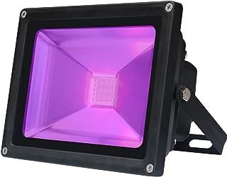 30 W IP66 fiestas con luz UV conciertos adecuado para acuarios resistente al agua Foco de luz UV y negra Lunsy