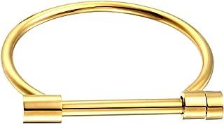 gold shackle bracelet