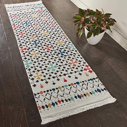 Marca de Amazon - Movian Vit, alfombra rectangular, 228,6 de largo x 6