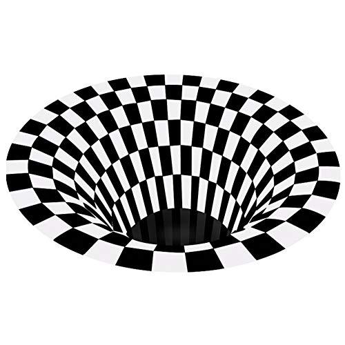 BOLANA Alfombra De Puerta Alfombra De Ilusión Efecto De Trampa 3d Alfombra De Impresión Dormitorio Sala De Estar Sala De Estudio Alfombra De Piso