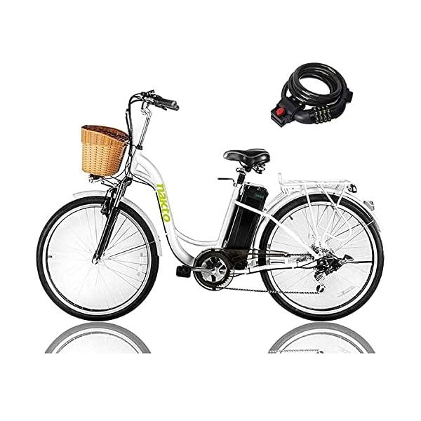 NAKTO 26 250W Cargo Electric Bicycle