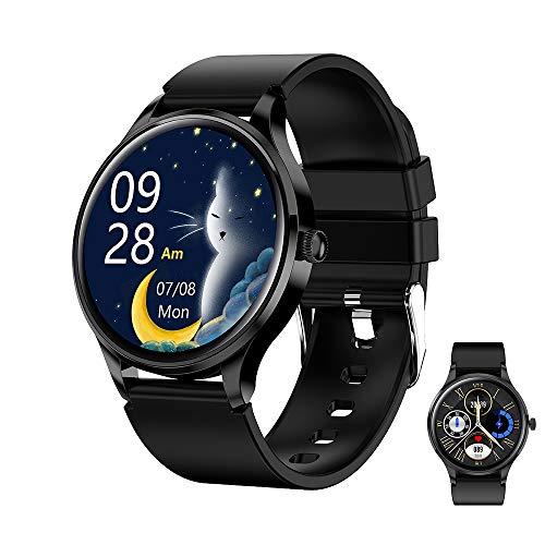 HXHH Reloj Deportivo Inteligente de Moda, con frecuencia cardíaca, presión Arterial, monitoreo de oxígeno en Sangre, recordatorio de Mensajes, podómetro