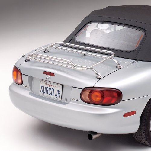 Surco DR1001 Stainless Steel Removable Deck Rack for Mazda Miata