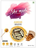 Sattva by Sujatha-She Made Biscotti - Almond (Pack of 3)…