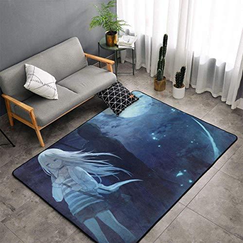 Meili ing Angel Teppichbereich Schlafzimmer Camping Soft Mat Kinderdecken Zimmer Komfortable und langlebige Dekor Teppich 60 X 39 In
