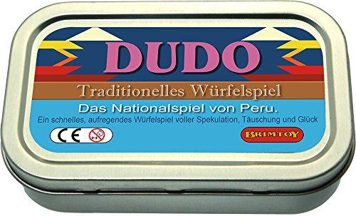Brimtoy Peruanisches Würfelspiel Reisespiel. Das Originale Liar's Dice Spiel aus Peru