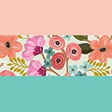 Jillson Roberts 54 Sheet-Count Tissue Paper Variety Pack Available in 6 Color Combinations, Gypsy Floral/Rose/Aqua