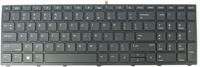 New Keyboard for HP Probook 450 G5 / 455 G5 / 470 G5 L01028-001 with Backlit Frame US Black