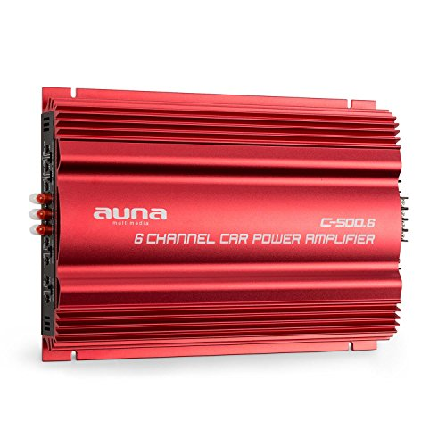 Auna C500.6 Amplificador Hi-Fi - 6 Canales