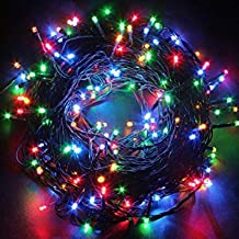 MIRADH Outdoor LED Fairy String Lights withMulti Mode Remote for Diwali, Christmas, Party,Decoration - Multicolor (30M)