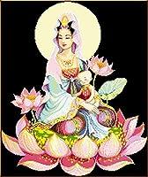 ダイアモンドPaintinダイアモンド刺繍キットダイアモンドペインティングDIY送信息子Guanyin新しいルービックキューブペインティングダイアモンド刺繍の装飾でいっぱい