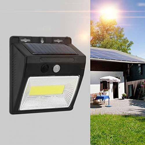 Omabeta Lámpara de inducción Sensor de Ahorro de energía portátil Luz automática para Carretera para Proporcionar iluminación