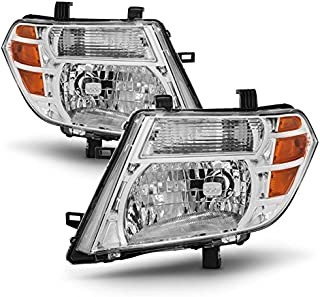 For 08 09 10 11 12 Pathfinder SUV Halogen Type Headlights Front Lamps Direct Replacement Left + Right Pair