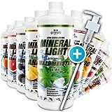 C.P. Sports Mineral Light (1 litro - Fresa) - Concentrado de bebida de sirope de electroli...