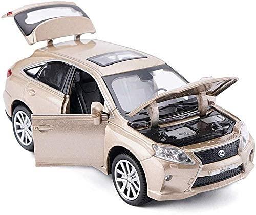 Belle Modèle Construire des voitures, modèle de véhicule de modèle - Collection adulte   jouet pour enfants, 1:32 Lexus RX450 Modèle de voiture Modèle de simulation d alliage d alliage de voiture, mod