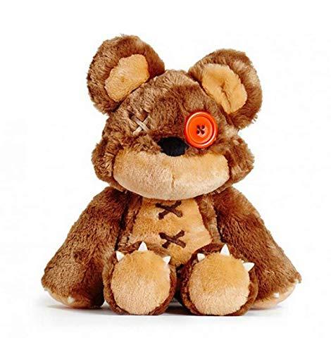 lili-nice Spiel LOL Tibbers Plüschtier Puppe Offizielle Ausgabe Annies Bär Plüsch Weich Gefülltes Spielzeug Für Weihnachten Geburtstagsgeschenke 40Cm