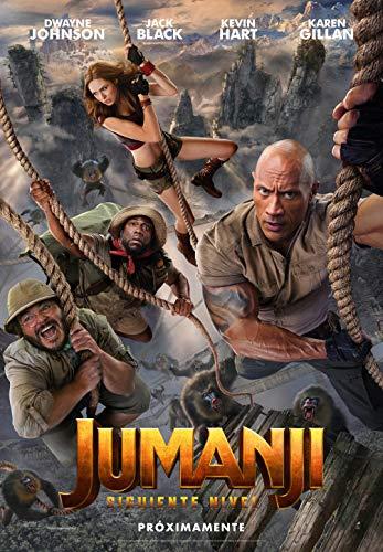 Jumanji: El siguiente nivel - Edición Metálica (BD) [Blu-ray]