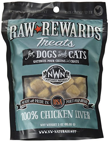 Northwest Naturals Raw Rewards Freeze-Dried Liver Treats
