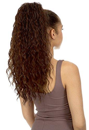 [Ponytail] New Born Free Drawstring Ponytail Curly Style - DIONNA - 0369 (1B)