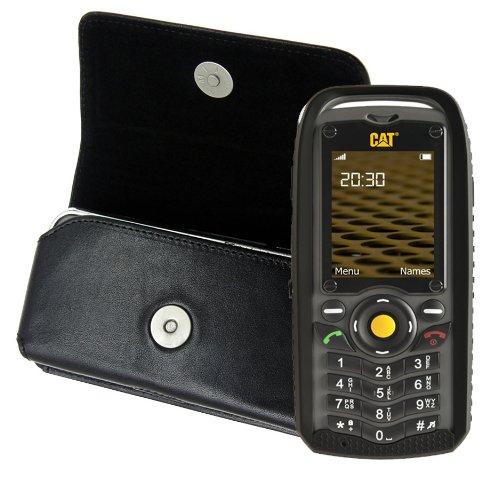 Original MTT Quertasche für / Caterpillar CAT B25 Outdoor / Horizontal Tasche Ledertasche Handytasche Etui mit Gürtelclip*