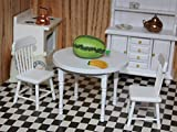 xcdz Mini Muebles Cocina Mesa Redonda Silla