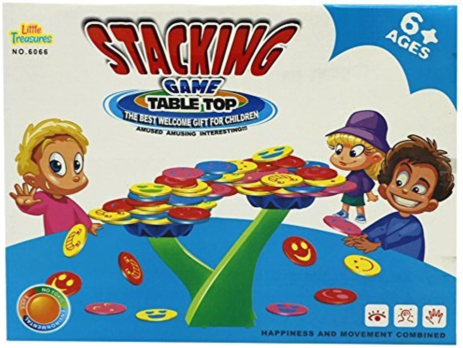 Little Treasures Stacking Coin Tabletop Balancing Game for Ages 6 and Up