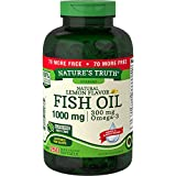 Nature's Truth 1000 Mg Omega-3 Fish Oil Softgels, 250 Count
