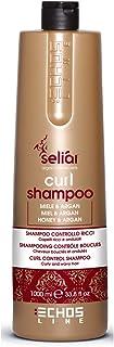 Curl Shampoo Control with honey and Argan Oil 1000ml Seliar® Shampoo Control Erizos con miel y aceite de argan