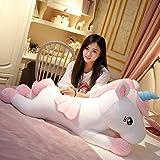 Xiaotian Unicornio de Peluche de Juguete muñeca muñeca de Trapo muñeca Super Chica Linda Cama durmie...