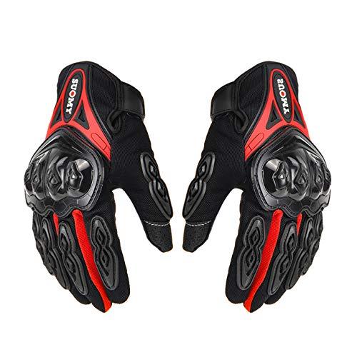 Berrd Motorradhandschuhe Herren Racing Moto Motorrad Motocross Reithandschuhe Motorrad Atmungsaktiv Sommer Vollfinger Guantes XL