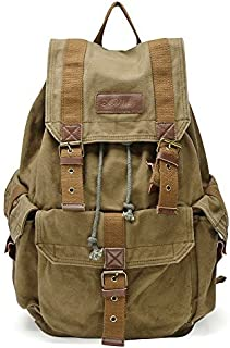 Gootium 21101 Specially High Density Thick Canvas Backpack Rucksack