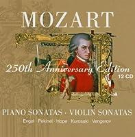 Mozart: Piano & Violin Sonatas, 250th Anniversary Edition (2005-09-19)