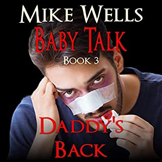 Baby Talk: Daddy's Back  audiobook cover art