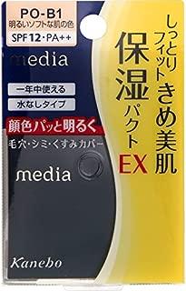 Kanebo Media Moist Fit Pact EX Powder Foundation PO-B1