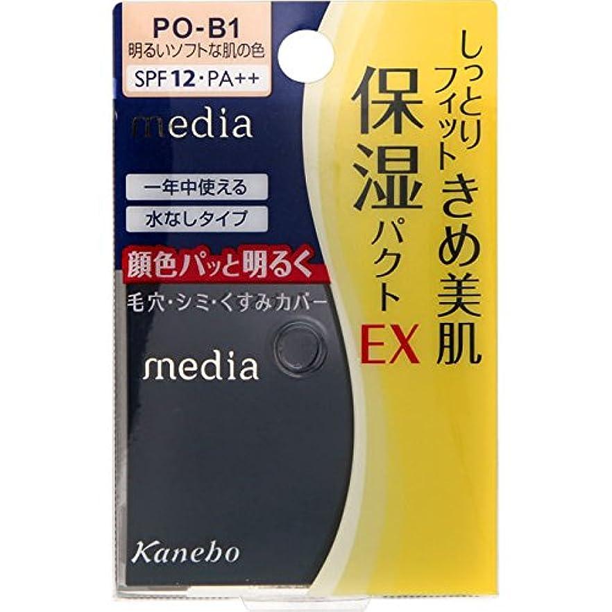 に慣れ寝室ストライドカネボウ メディア モイストフィットパクトEX PO-B1(11g)
